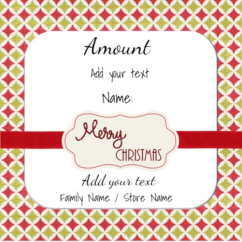 Christmas Gift Certificate Templates Certificate Templates - gift certificate template pages