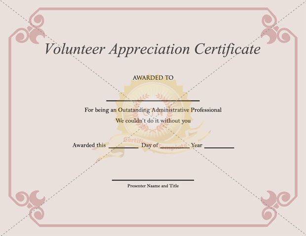 sports certificate in pdf - Teacheng - Award Certificate Template Microsoft Word