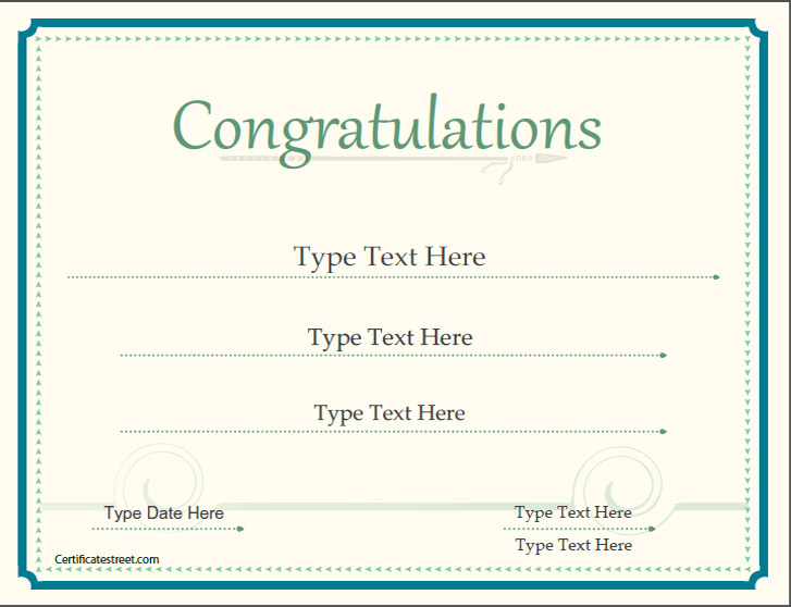 ... Sample Congratulations Certificates Congratulations Certificate   Congratulations  Certificate Template Word ...  Congratulations Certificates