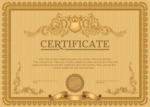 Appreciation Certificate Borders Certificate Templates