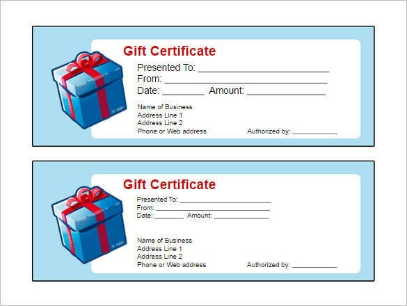 free gift voucher template for word - Goalgoodwinmetals - Printable Gift Certificate Template