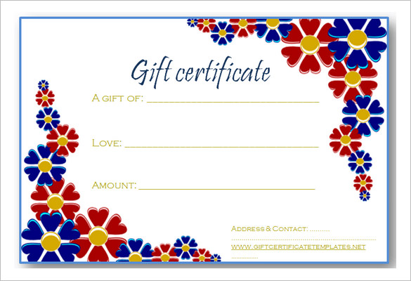 Mage Gift Certificate Templates Word - Gift Ideas