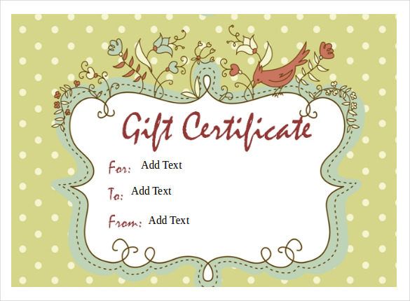 Gift Voucher Template Word Free - Gift Ideas