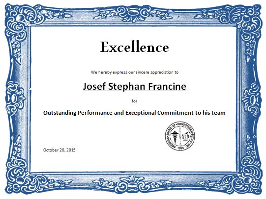 Sports Award Certificates Certificate Templates