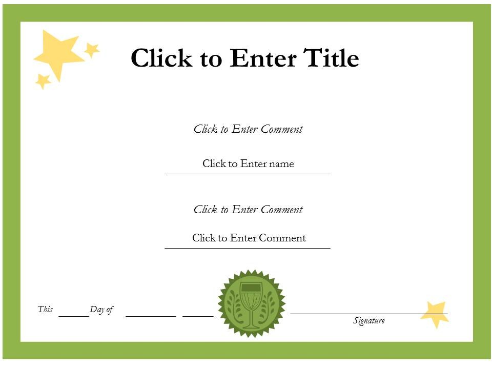 Graduation-certificate-template-for_kids - free printable perfect attendance certificate template