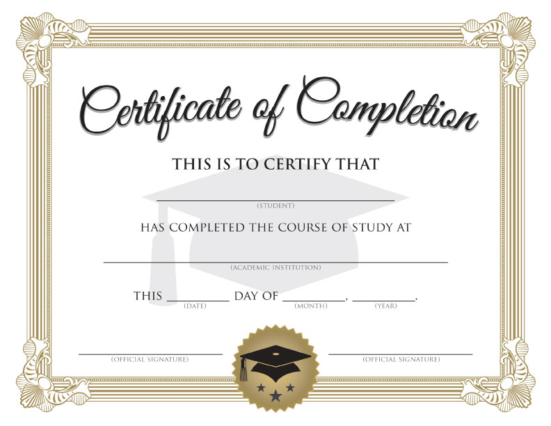Certificate-of-Completion-Graduation-Printable-Word-doc