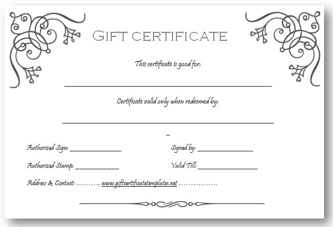 blank gift certificates templates templatebillybullock - certificate template blank