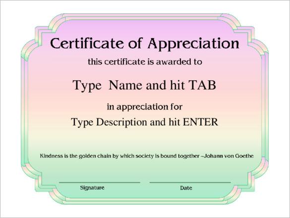 Professional Certificate Template Certificate Templates
