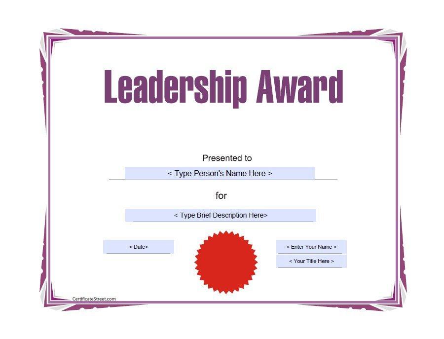 Printable Award Certificate Templates Certificate Templates - certificate template for kids