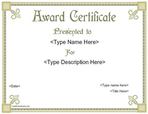 light green-high-resolution-award-certificate-template-