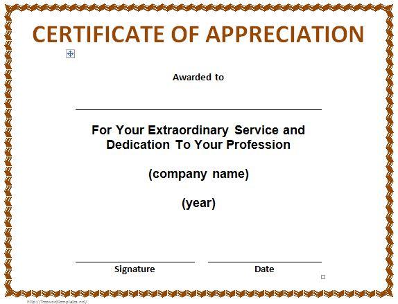 26 Word Doc Achievement Templates Certificate Templates