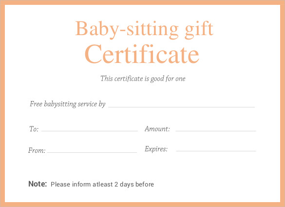 editable-printable-doc-Babysitting-Gift-Certificate-Template