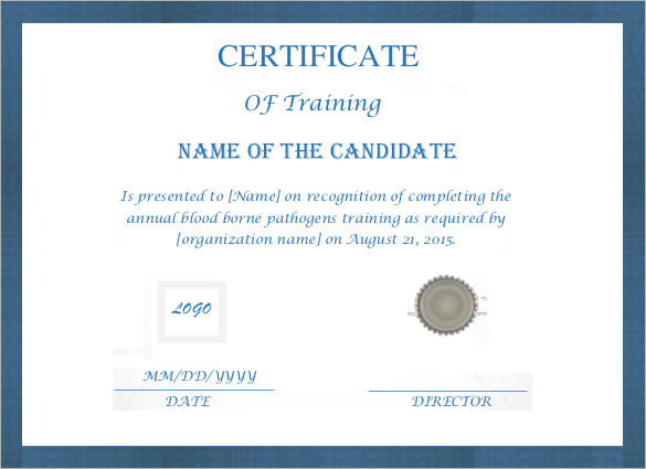 editable-printable-doc-Free-Training-Certificate