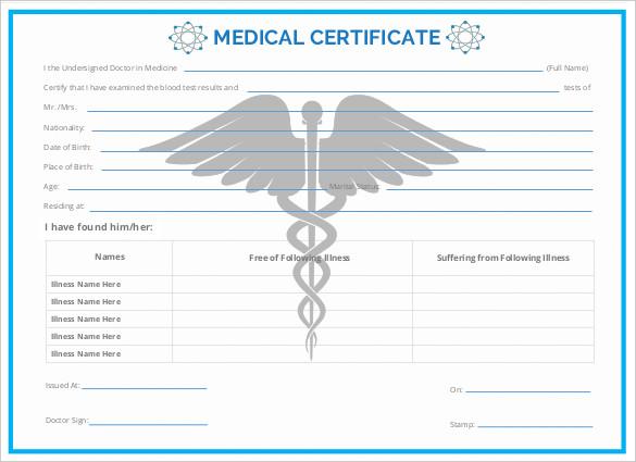 editable-printable-doc-Medical-Certificate-Free-Download - medical certificate download