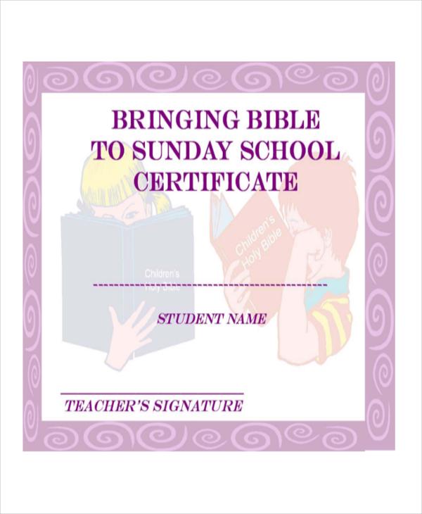 Christian-Sunday-School-printable-free-pdf-school-blank-certificate