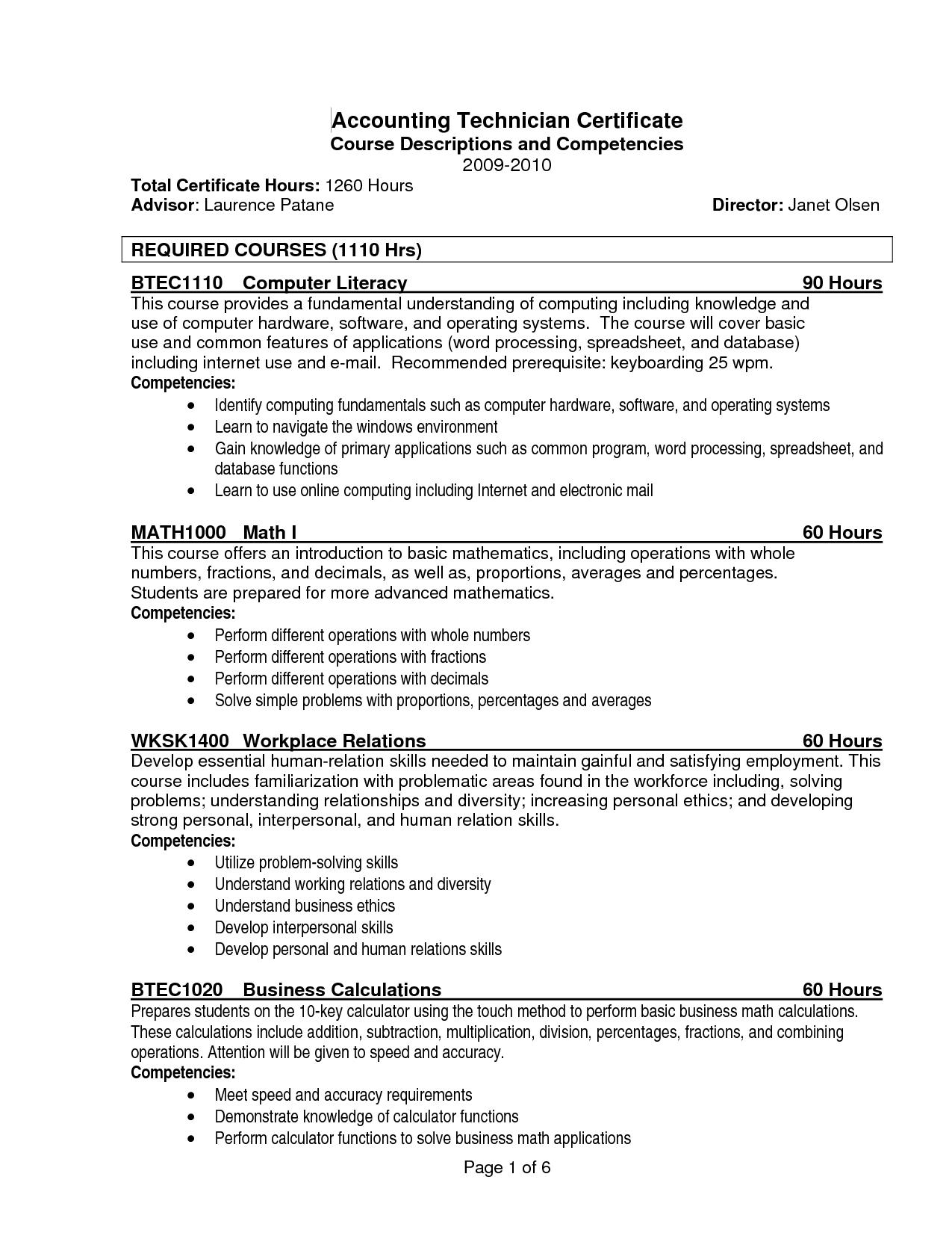 resume templates qualifications