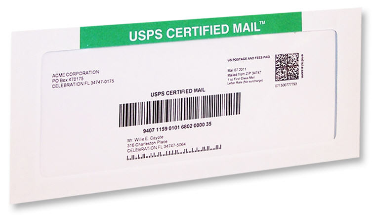 Absolutely the Easiest Way to Send USPS Certified Mail!