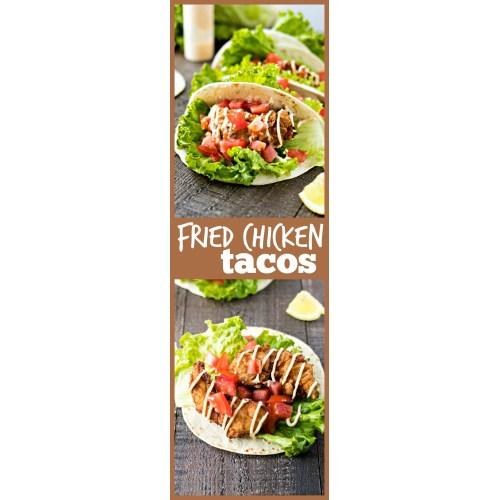 Medium Crop Of Fried Chicken Taco