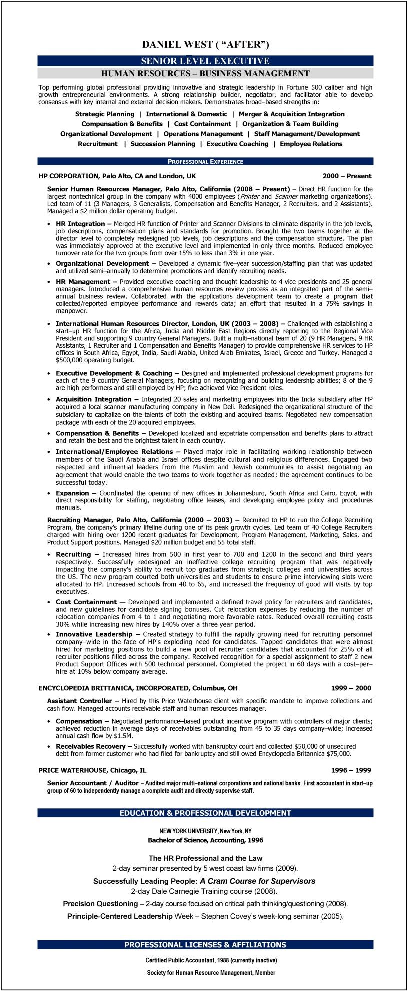 general resume tips - General Resume Tips