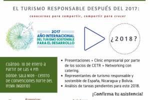 EL TURISMO RESPONSABLE DESPUÉS DE 2017: conocernos para compartir, compartir para crecer