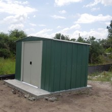 smWell Pump Shed – north