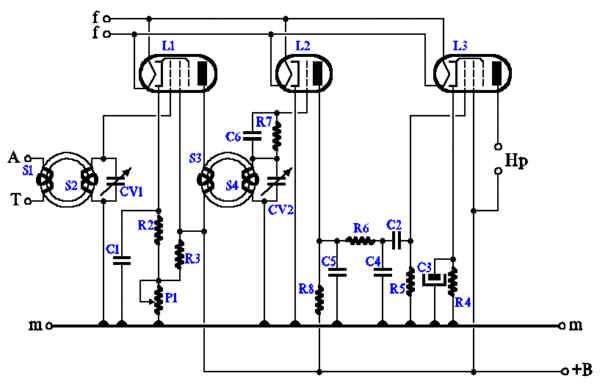 c6 radio schema cablage