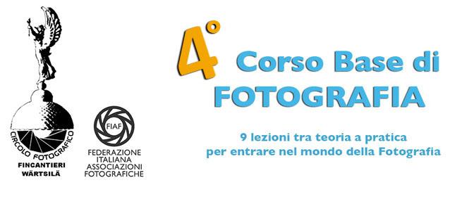 4° Corso Base di Fotografia