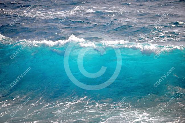 Sea Wave Photo  Virtual Sets  Green Screen and Animated