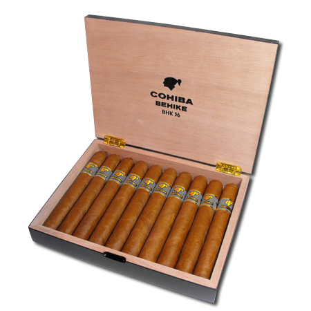Cohiba Behike Bhk 56 Cigar Box Of 10