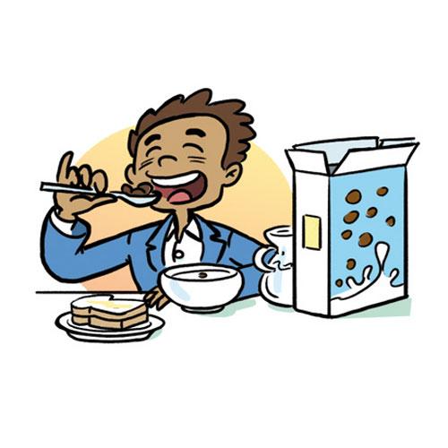 Eat Breakfast Cartoon   HD Walls   Find Wallpapers