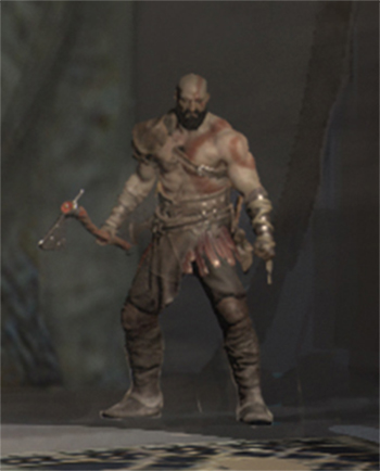 Possible God of War 4 concept art leaks 2