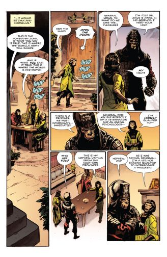 Tarzan on the Planet of the Apes Comic Review 2