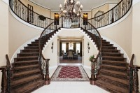 Double Staircase in a Moorpark Country Club Estates Home ...