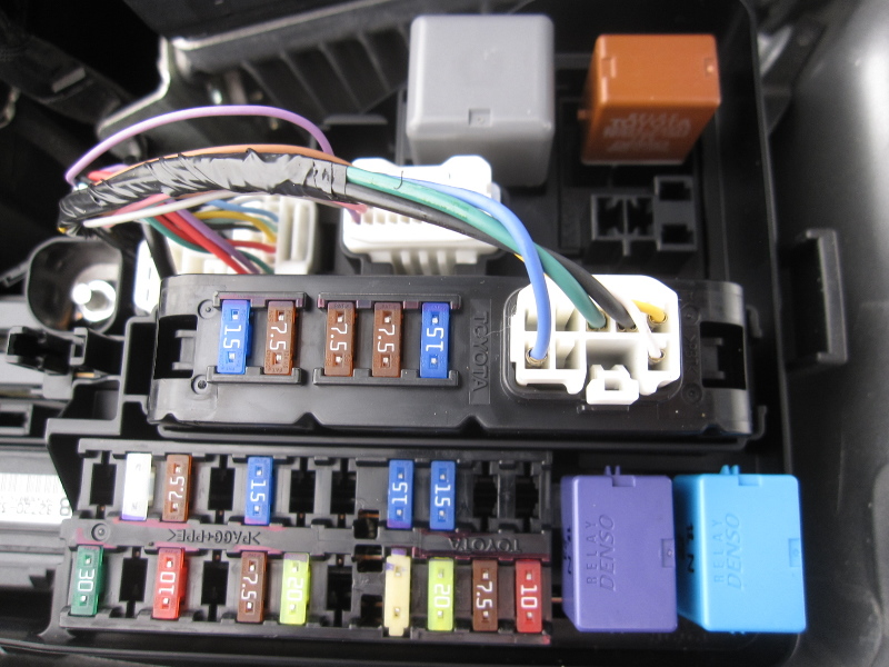 Camry Fuse Box Wiring Diagram 2019