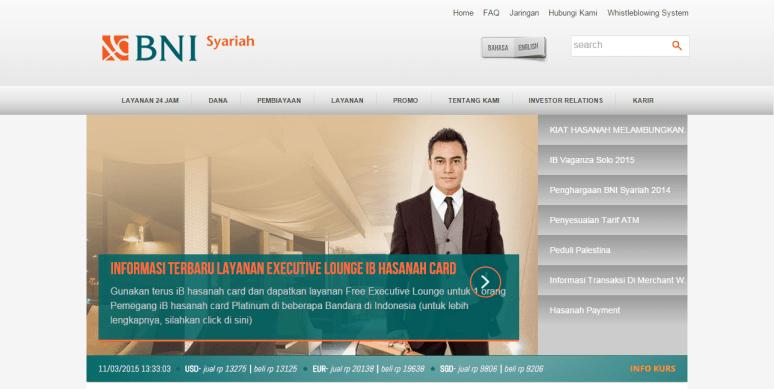 Membuat rekening BNI Syariah dan ATM IB Hasanah Card
