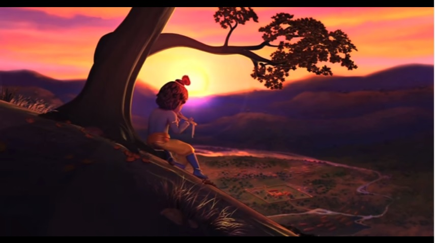 Sikh Animated Wallpaper A Magical Krishna Musical Video That Will Give You