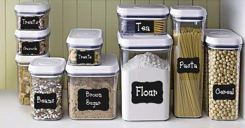 Chalkboard Labels 3 Ways to Make Them