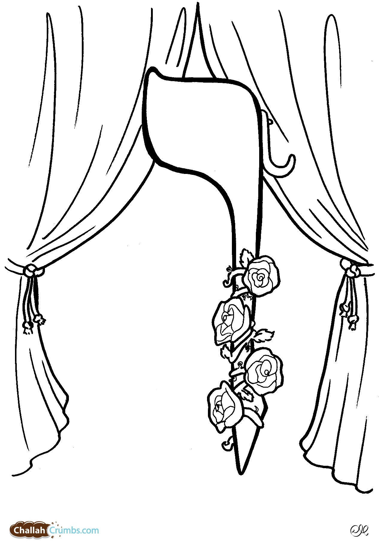 Beautiful Aleph Bet Coloring Pages Http Wwwchallahcrumbscom ...