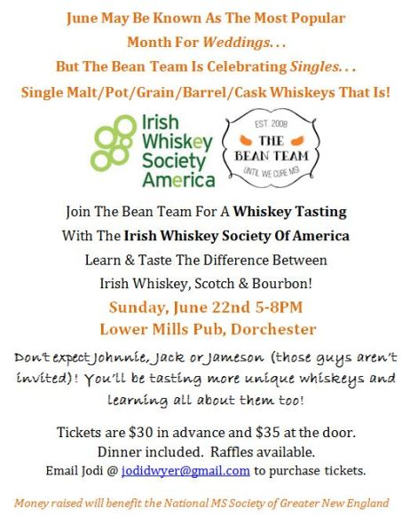Whiskey Tasting MS Fundraiser