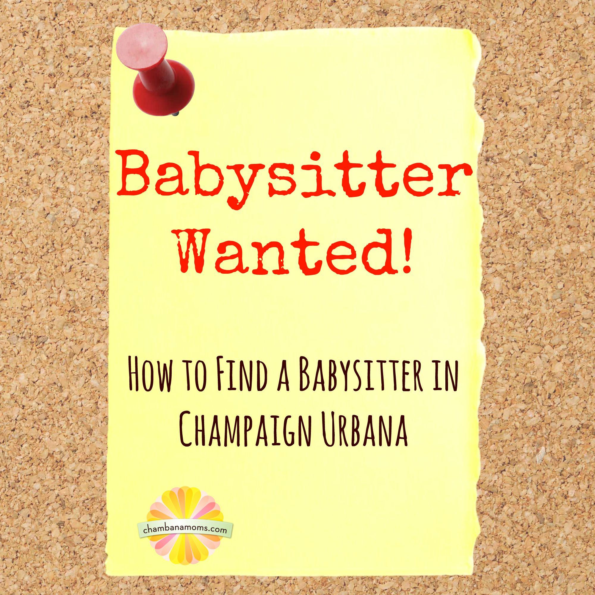 looking for a baby sitter