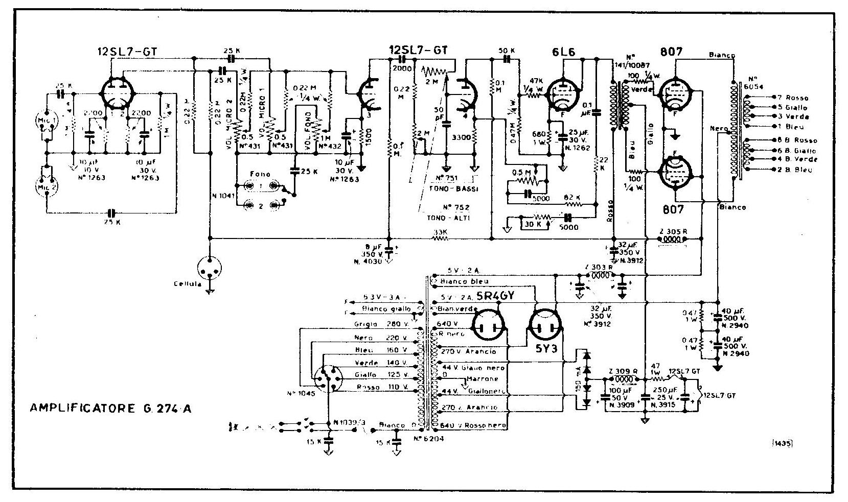 geloso g273a schematic diagam