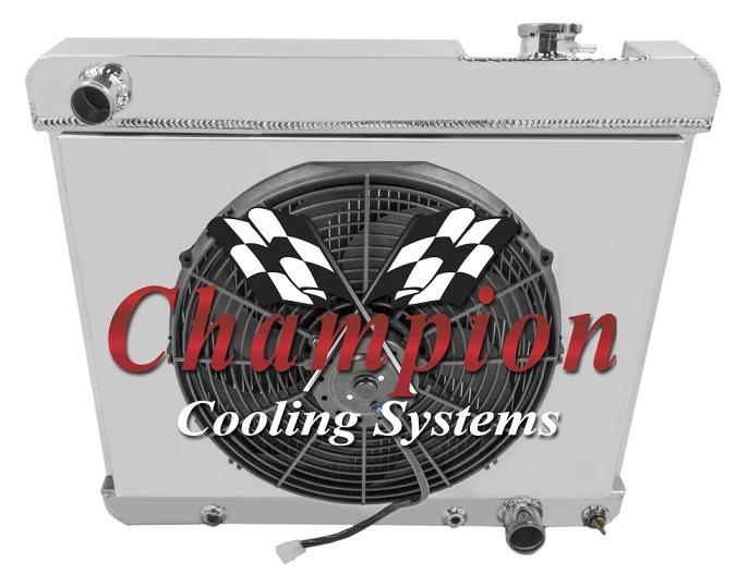 2-Row GMC Truck radiator (63-66)