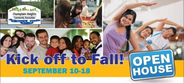 Kick off to Fall Open House Sept 10-18