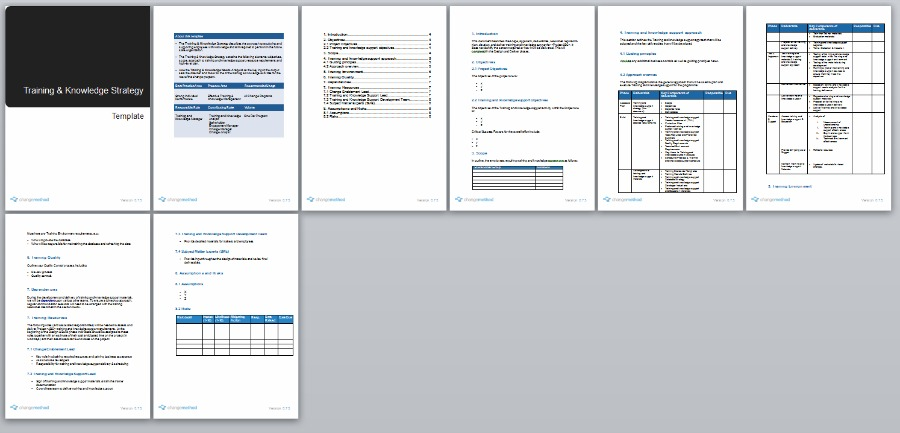 knowledge management plan template - Alannoscrapleftbehind - change management plan template