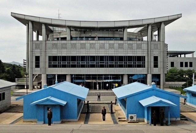 GB DMZ from North Korea