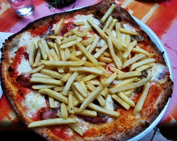 Pizza Italy french fries
