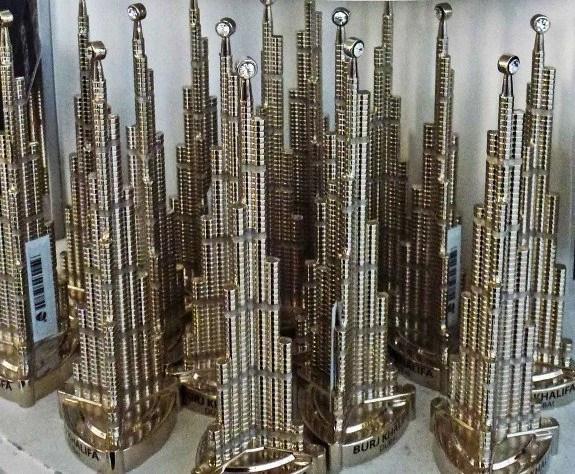 Burj Khalifa souvenir buildings