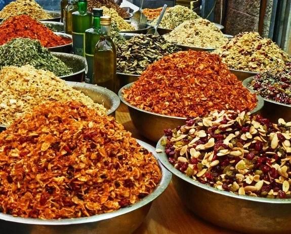Arab market Jerusalem