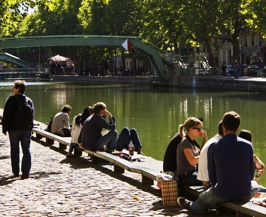 Less crowded sights in Paris- Canal Saint-Martin