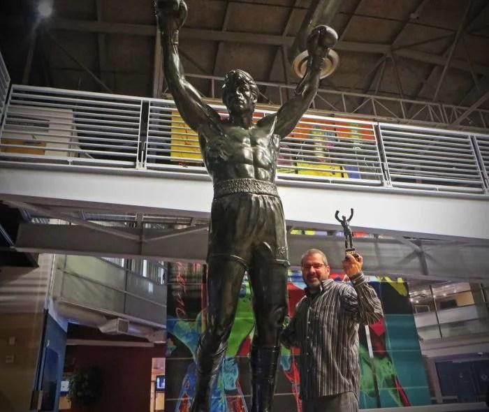 rocky statue san diego